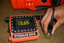 水中厚み測定器