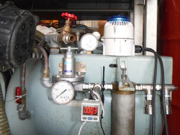 コンプレッサー用圧力警報器